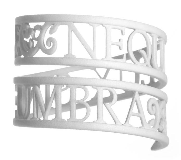 sn-10045880 1 Victoria Contreras Flores - Neque Lux Sine Umbra - Bracelet